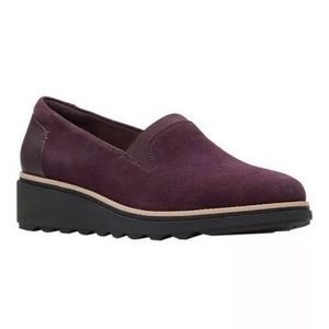 Clarks Sharon Dolly Ortholite Footbed Loafers 7.5M